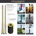 Công nghệ sản xuất đặc biệt trụ đèn Lioa