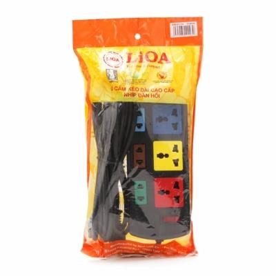 Ổ cắm điện đa năng LIOA 3D3S32 (Đen)