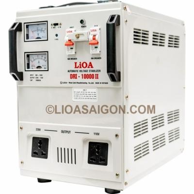 Ổn áp LiOA 10KVA dải 90V mẫu mới 2019