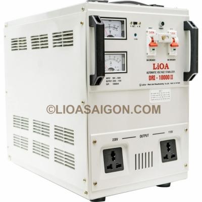 Ổn áp 1P DRI LiOA DRI-10000 10kVA (Nâu đậm)