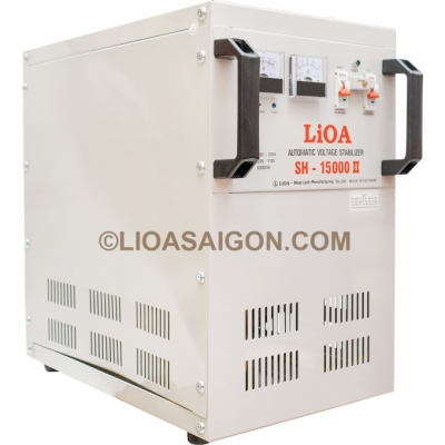 Ổn áp lioa 15KVA dải 150V LiOA SH-15000