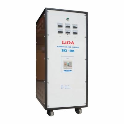 Ổn áp 3P khô SH3 LiOA SH3-60K 60kVA (Trắng)