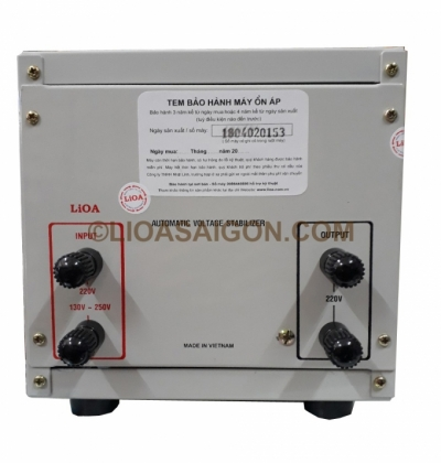 Ổn áp LIOA 2KVA - LiOA SH-2000
