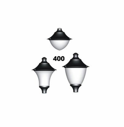 Đầu đèn hiện đại 400 lắp đui E27 hoặc E34