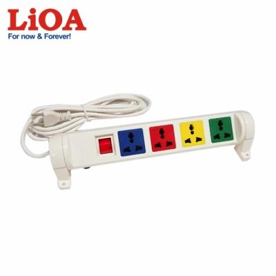 Ổ cắm kéo dài đa năng xoay 4 ổ cắm LiOA 4D33WN2X - 4D33WN2X