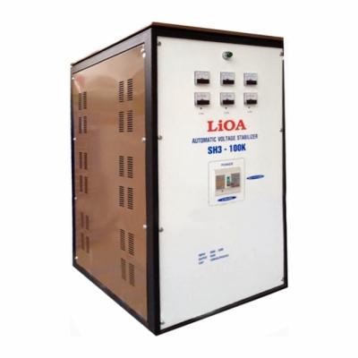 Ổn áp 3P khô SH3 LiOA SH3-300K 300kVA (Trắng)