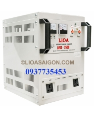 Ổn áp 1P DRII LiOA DRII-7500 7.5kVA (Nâu đậm)
