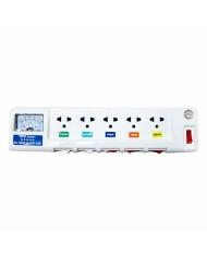 Ổ cắm điện Lioa 5OFSSV2.5-2 (Trắng)