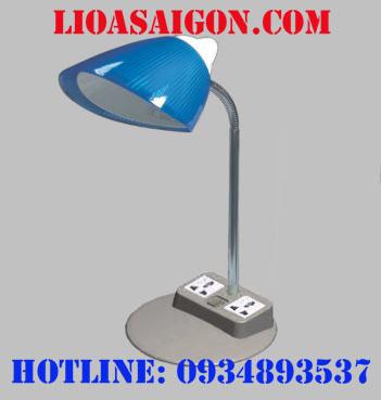 Đèn bàn LiOA có ổ cắm đa năng - LIDBM27D