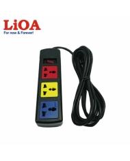 Ổ cắm kéo dài đa năng 3 ổ cắm LiOA 3D52N - 3D52N