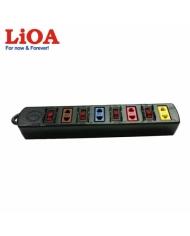Ổ cắm kéo dài phổ thông 4 ổ cắm LiOA 4SOF5 - 4SOF5