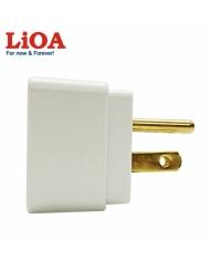 Ổ cắm nối LiOA chuẩn Mỹ với sạc USB - OC1USB