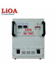 Ổn áp 1 pha LiOA DRII-7500II - DRII-7500 II