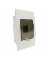 Tủ điện âm tường LiOA đế nhựa 2-4 aptomat SE4FC2/4LA