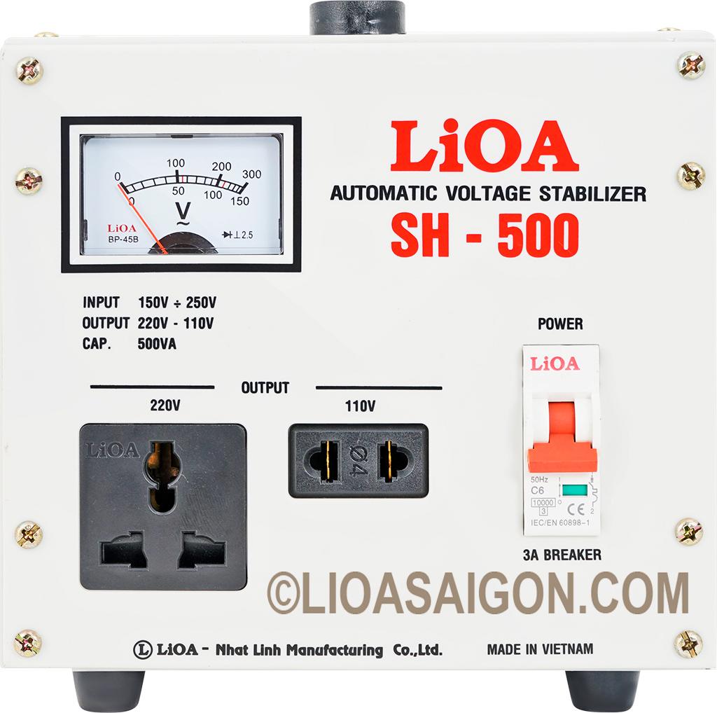 Mua ổn áp lioa 0.5kva ở Đà Nẵng
